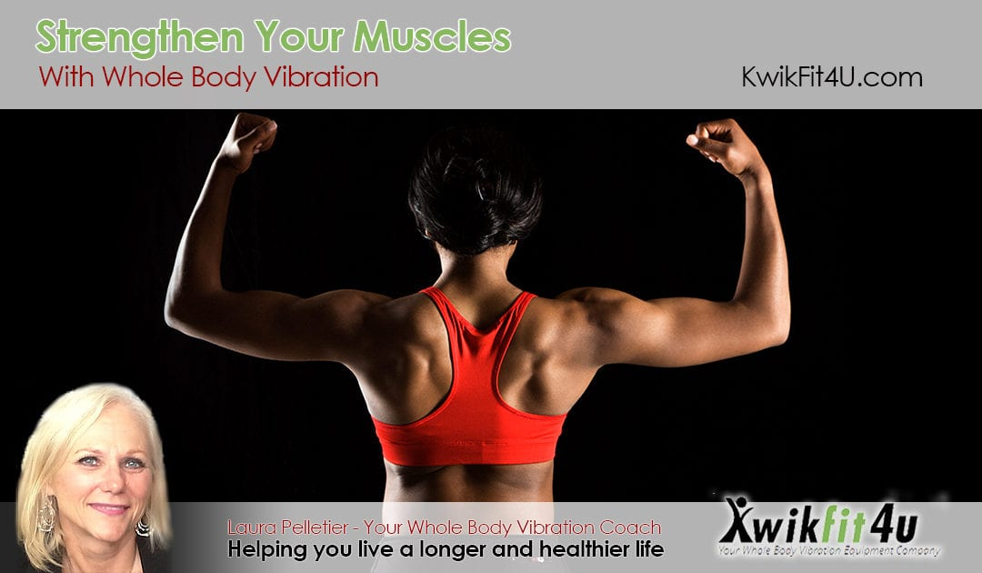 Strengthen Your Muscles with Whole Body Vibration Equipment
